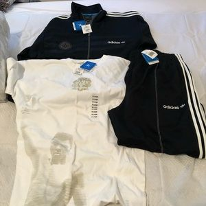 Adidas tracksuit ..Mohamed Ali victorious edition.